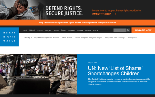 Human Rights Watch – Algeria