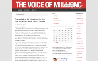 Voice of Millions (The)
