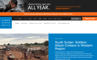 Human Rights Watch – Chad