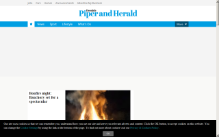 Deeside Piper and Herald